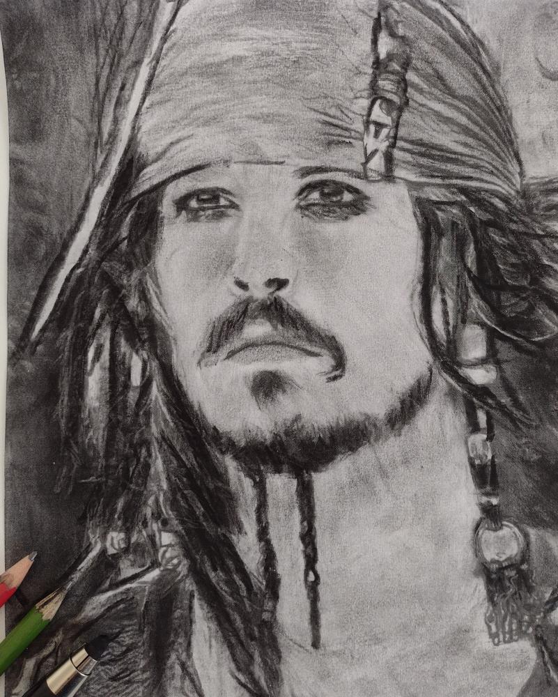 Johnny Depp by mi7ell